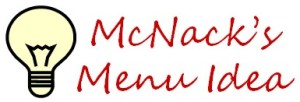 Easy Menu Ideas