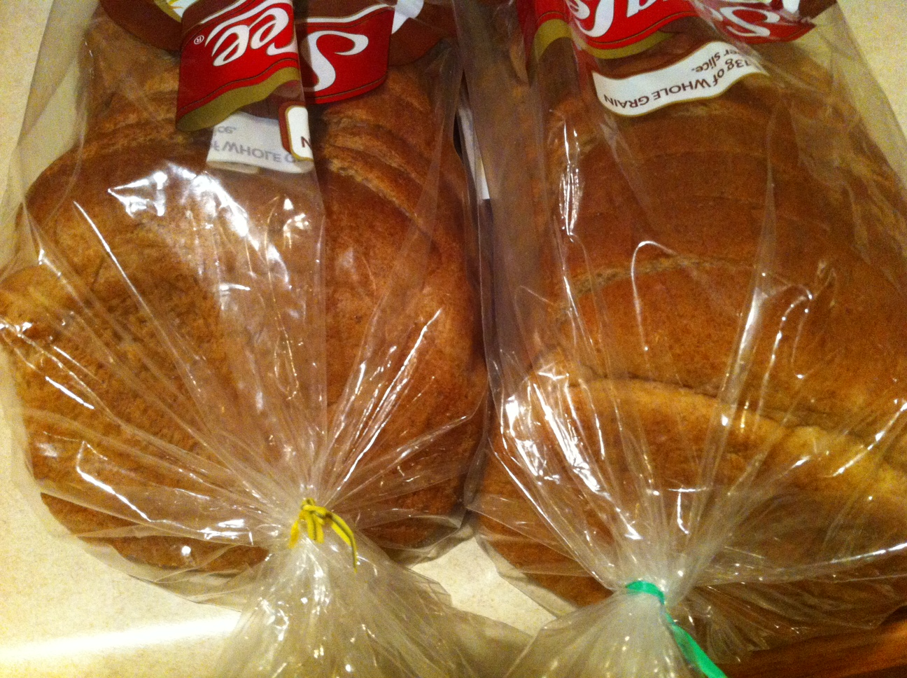 what do colored bread ties mcnack s kitchen
