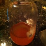 leftover oil