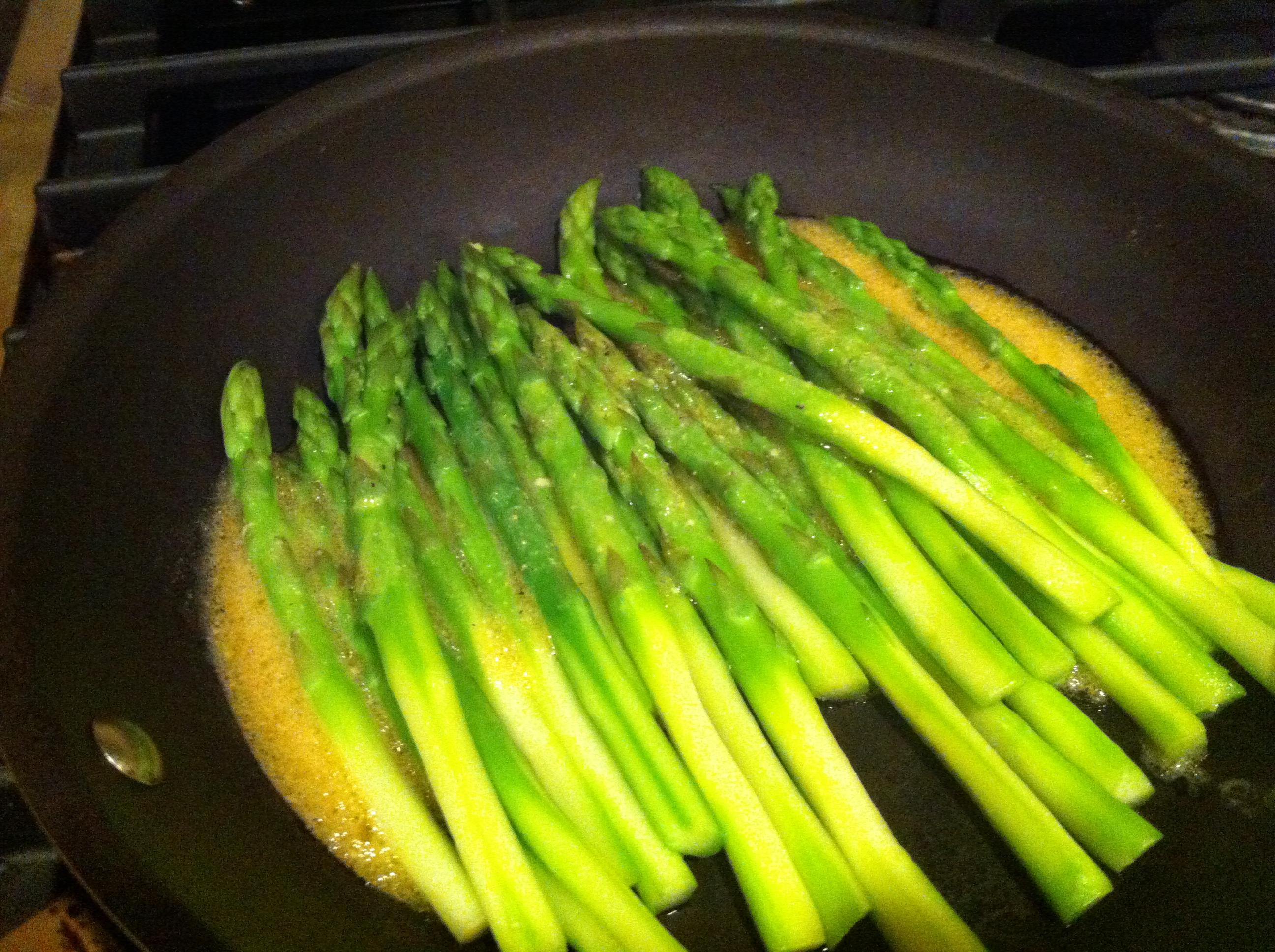 Asparagus with Dijon Vinaigrette - McNack's Kitchen