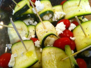 easy zucchini preparation