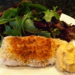 Easy toasted halibut recipe