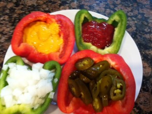 Pepper Condiment holders