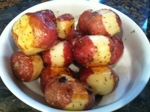 Paula Deen's Roasted Potatoes