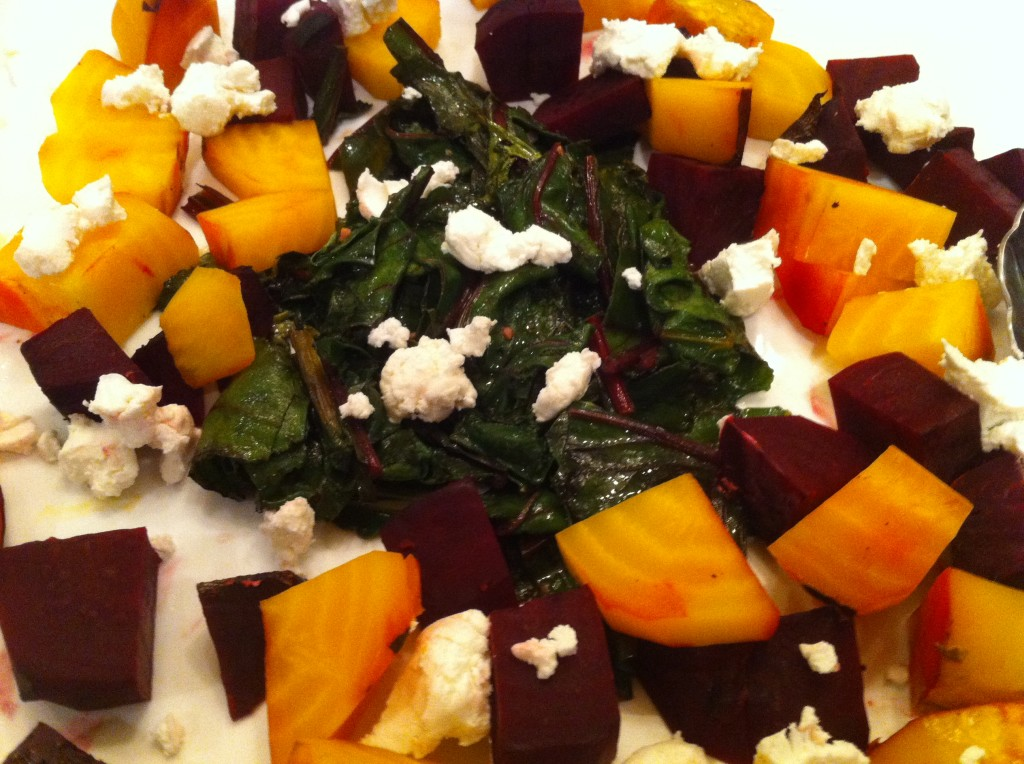 how to roast or smoke beets