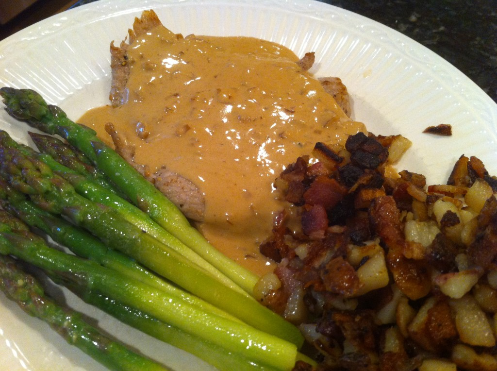 veal with cream sauce