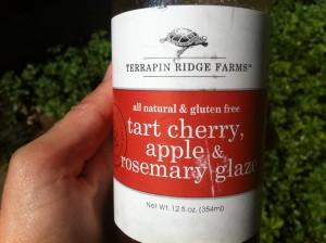 Pork Tenderloin with Tart Cherry, Apple and Rosemary Glaze – Gluten Free