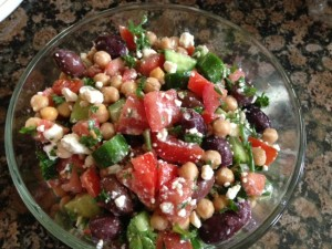 Middle Eastern Salad