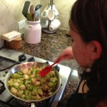 Kid Friendly Brussels sprouts