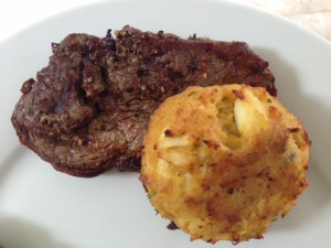 Steak and Crab Cakes