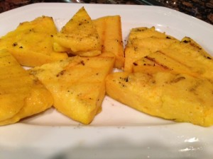 Homemade Grilled Polenta