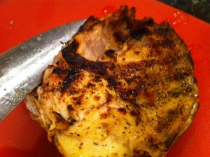 turkey with lemon and garlic