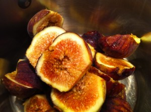 homemade fig preserves