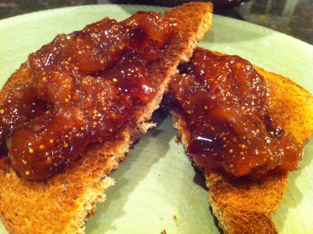 homemade fig preserves recipe