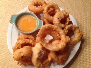 Homemade Onion Rings