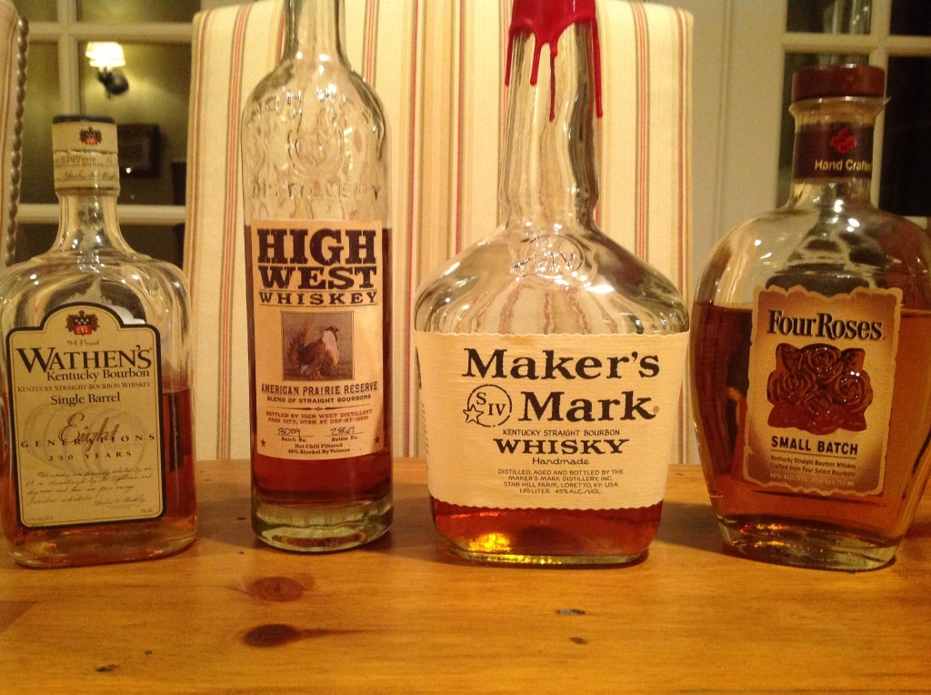 how to have your own bourbon tasting