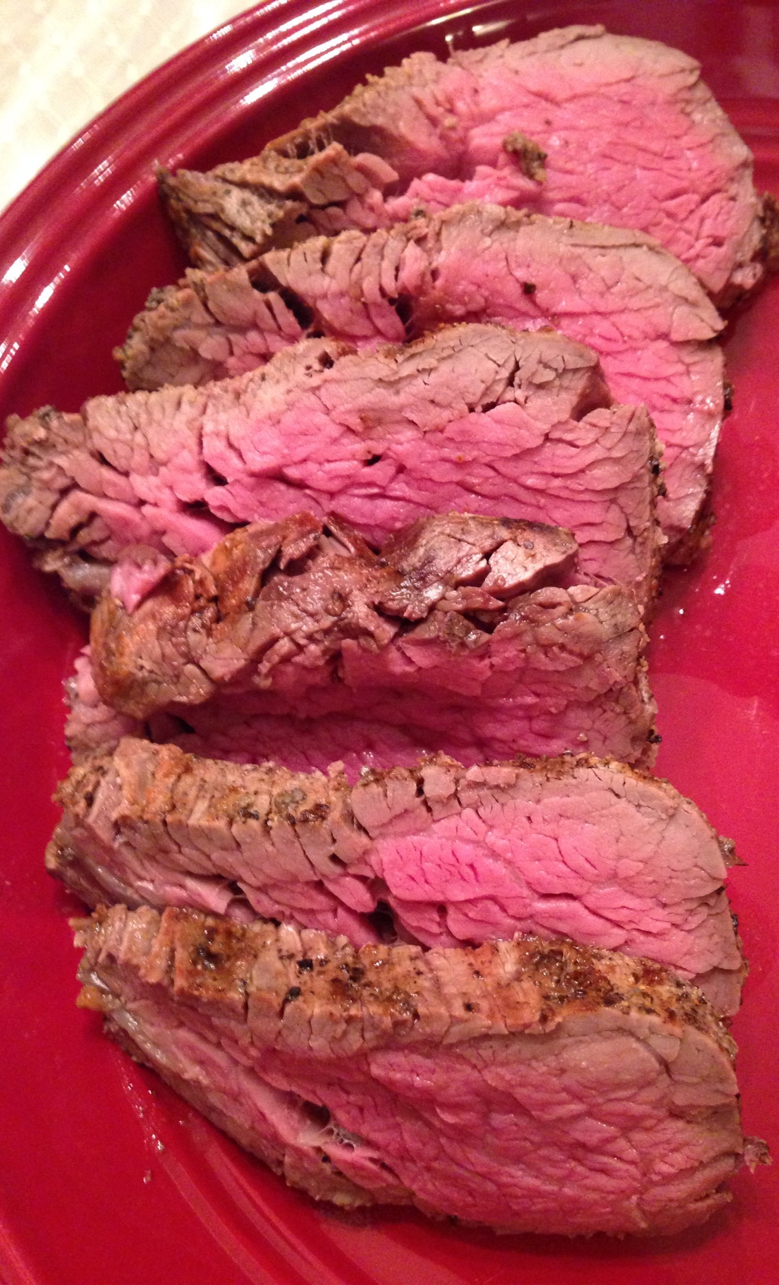 Grilled Beef Tenderloin with Salt and Pepper