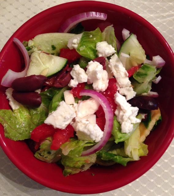 Mediterranean Bread Salad