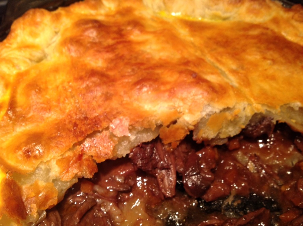 short ribs in puff pastry