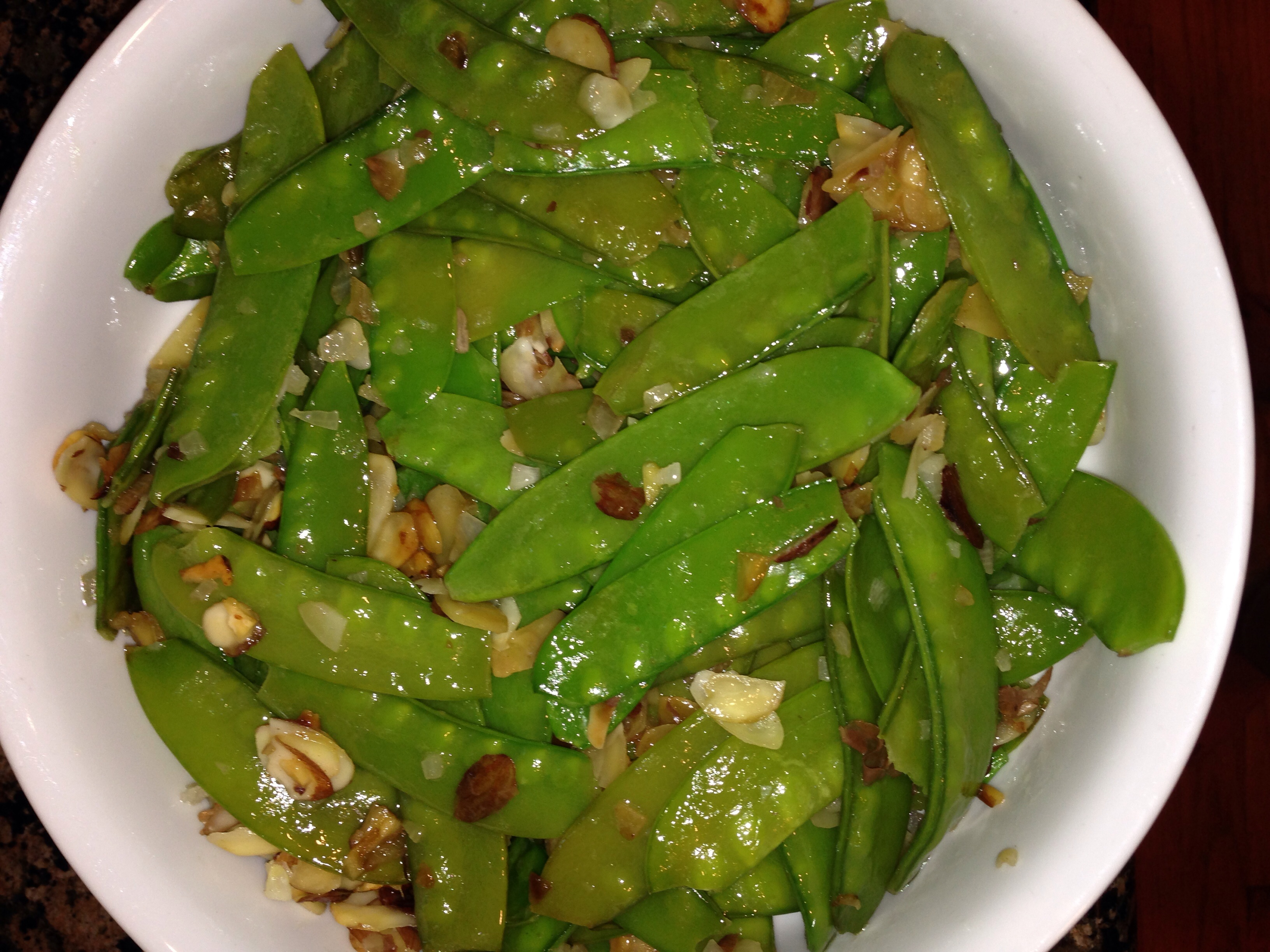 ... snap peas with crispy shallots asparagus and snow pea snap peas with