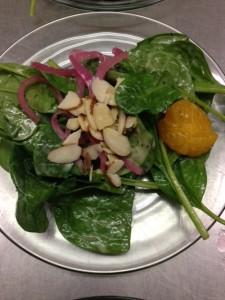 Menu for special dietary needs