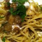 roasted eggplant pasta