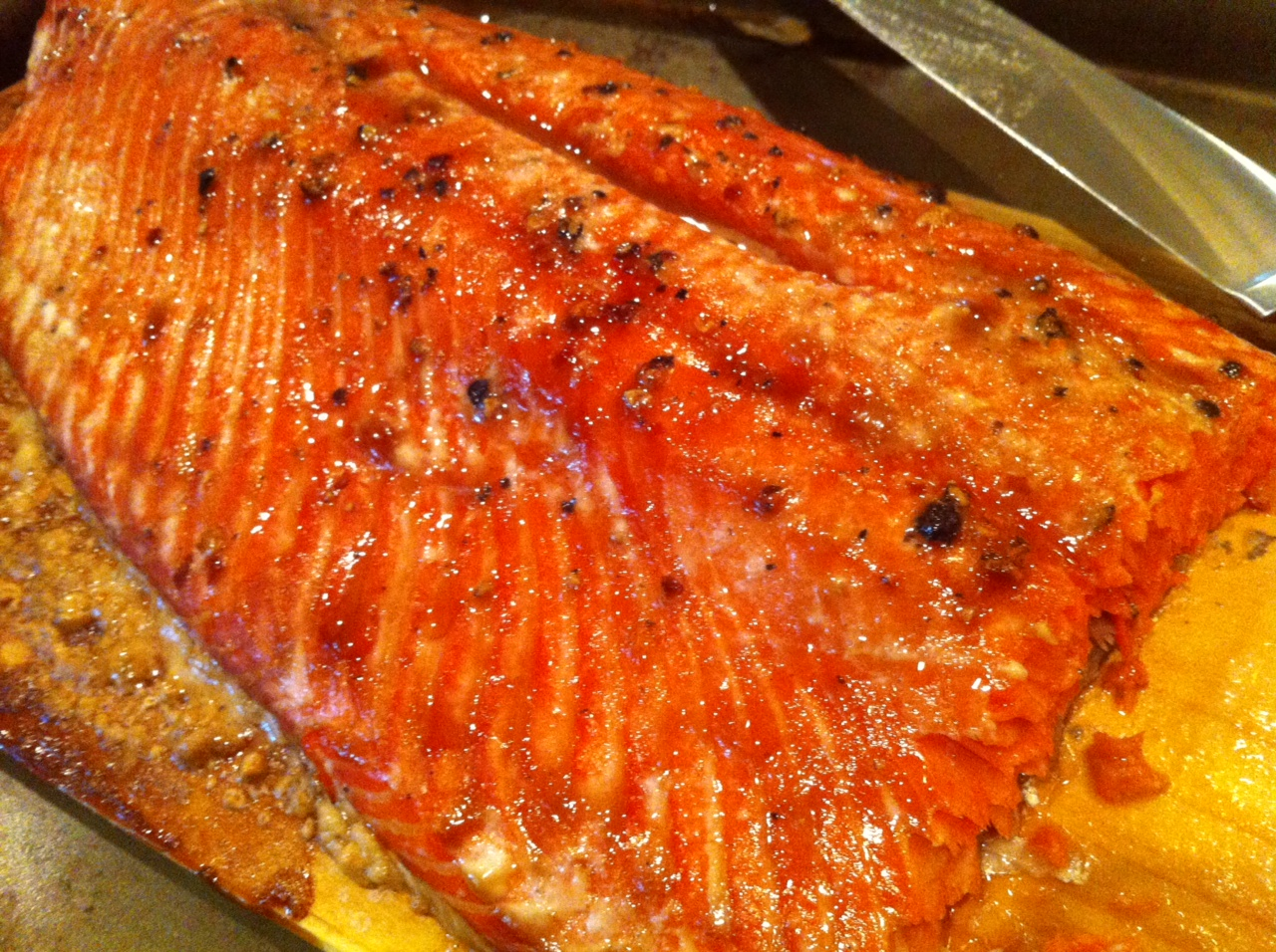 Smoked Wild Salmon on the Big Green Egg