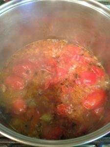 Martha Stewart's Roasted Tomato and Tarragon Soup