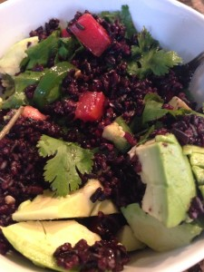 Spicy Black Rice